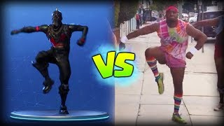 All Fortnite Dances in Real Life (Robot Dance, Breakdance, etc)* *NEW 2018*