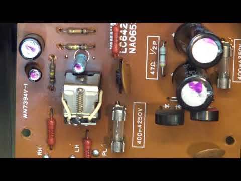 Yamaha CA600 one channel no sound