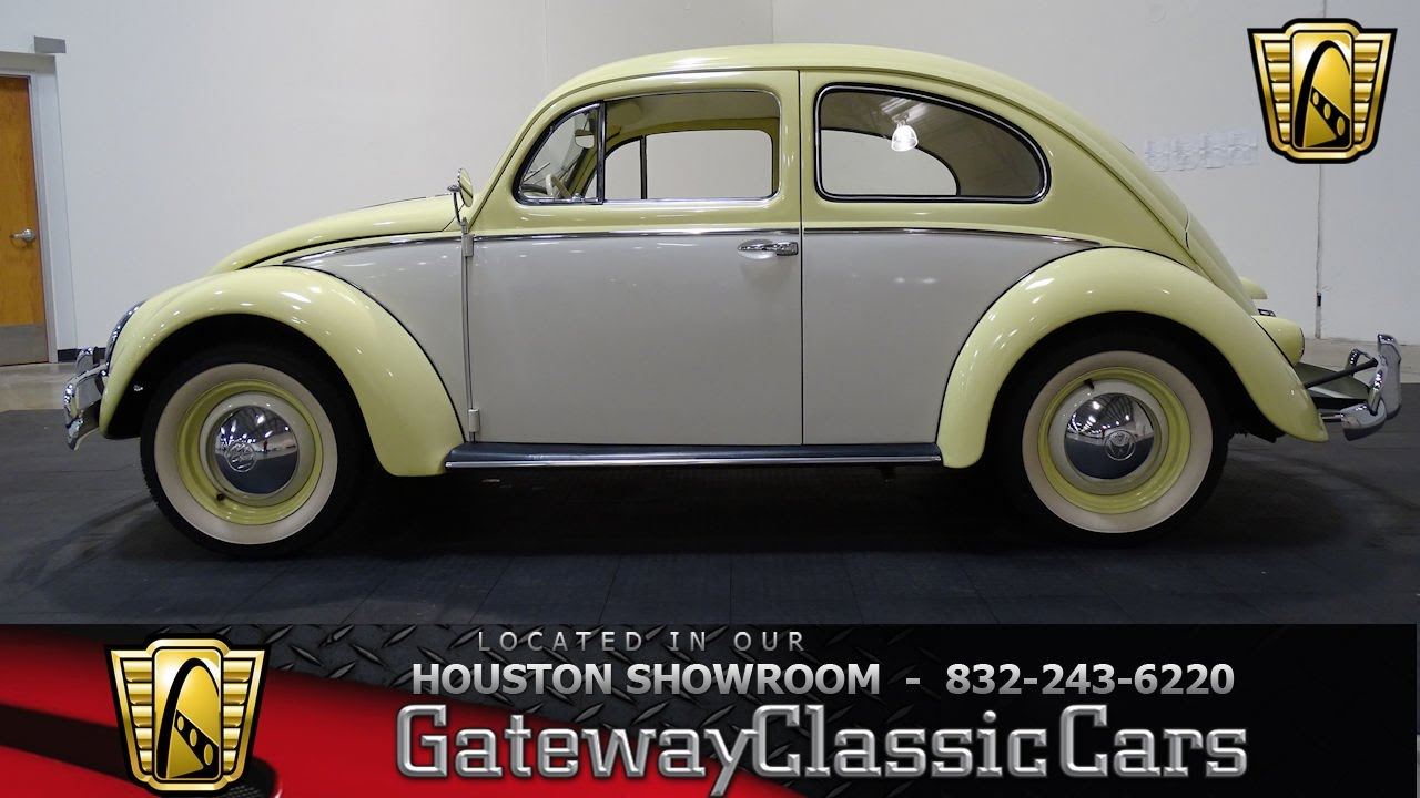 Hou Vw Bug Gateway Classic Cars Houston Youtube