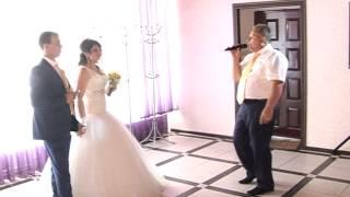 Свадьба Ширяевых 5.07.2014. Поздравление для любимой дочери от папы.