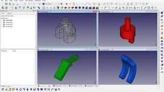 Freecad 0.16 (4993) Mechanical Drawing Th26a