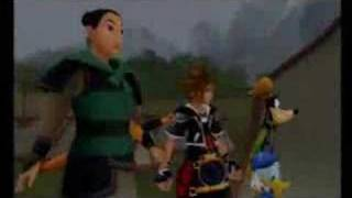 Kingdom Hearts II - Land of Dragons - 1st Visit - Part 1