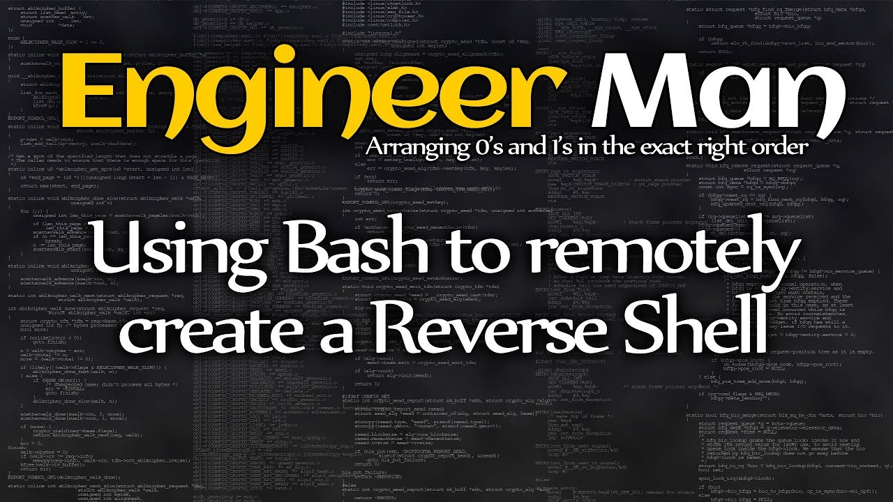 Use Bash to remotely create a Reverse Shell