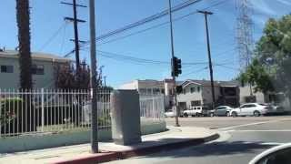 driving in compton watts south central inglewood culver city