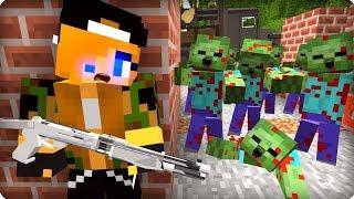 Выжившая девушка [ЧАСТЬ 43] Зомби апокалипсис в майнкрафт! - (Minecraft - Сериал)