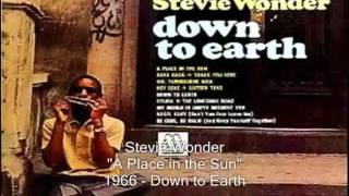 Stevie Wonder - A Place In The Sun (with lyrics) - HD