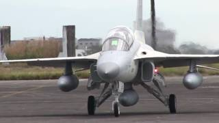 Arrival of new FA50 fighter jets of the Philippine Air Force