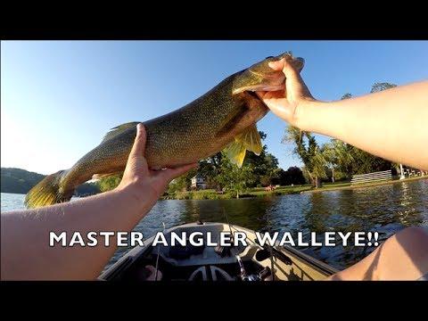 New Jersey Walleye Fishing!!(Monster Walleye)