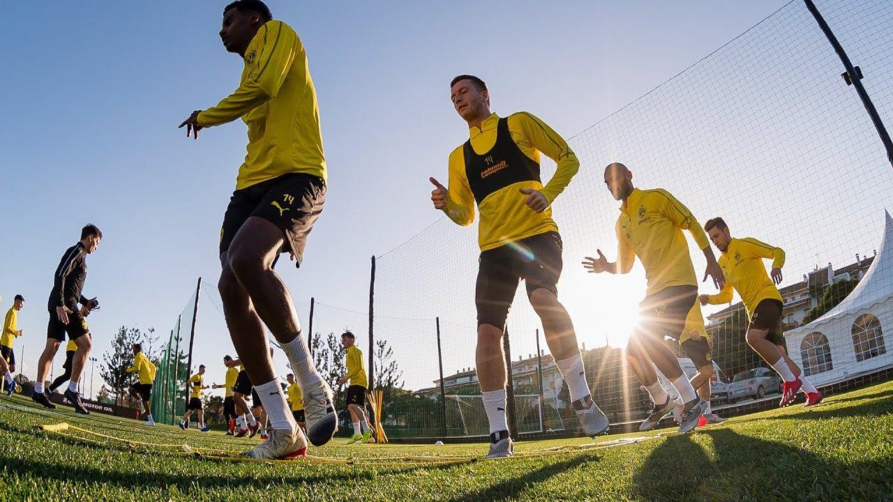 Trainingsauftakt beim BVB - die erste Einheit 2019   Alle Infos aus Marbella