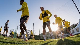 First BVB Training in 2019 in Marbella