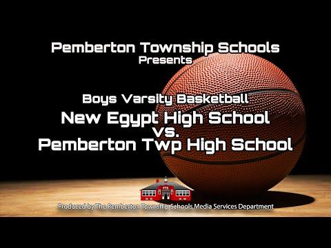 Boys Varsity Basketball vs New Egypt High School