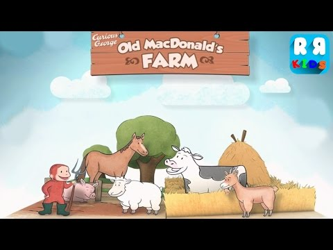 Curious George: Zoo Animals - Old McDonald's Farm - Best Apps for Kids | Educational