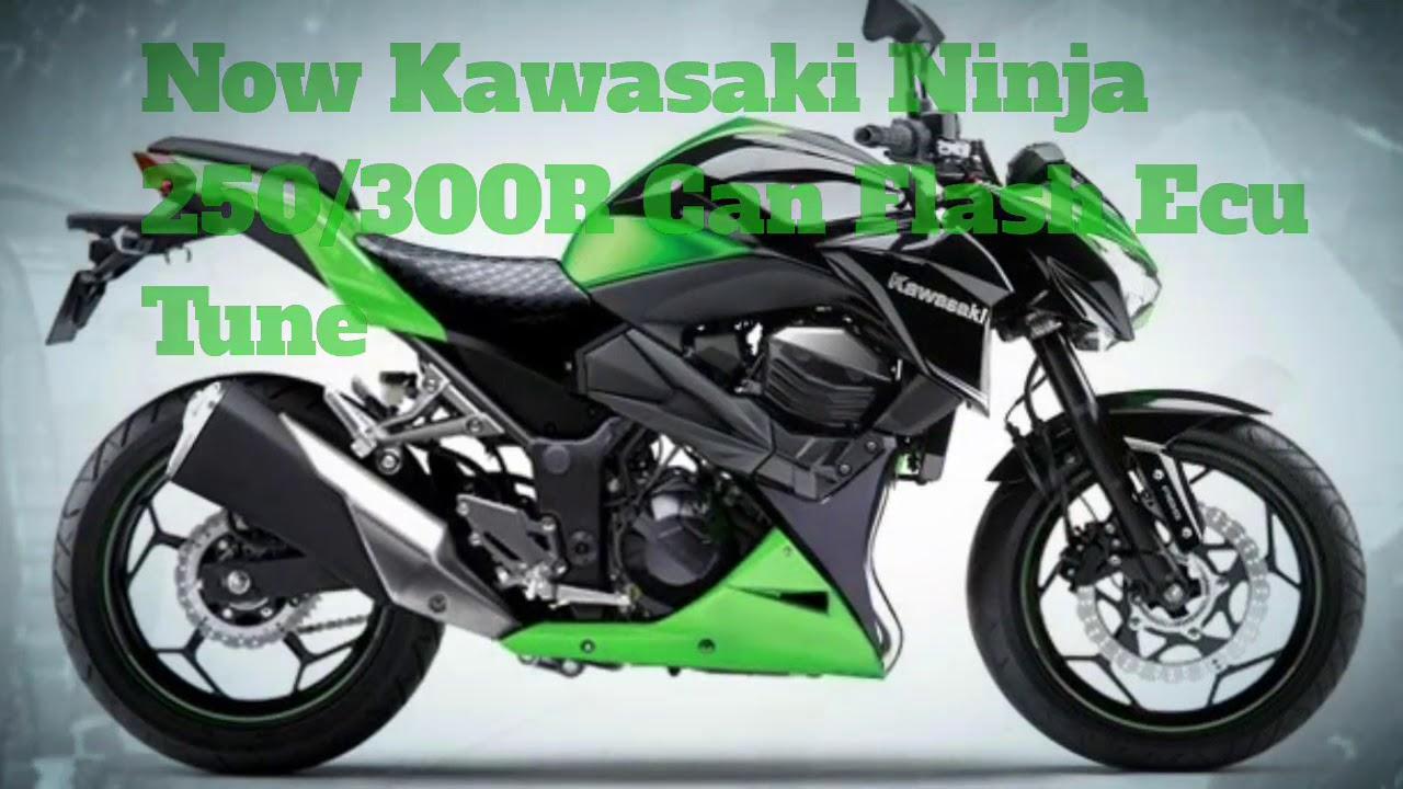 Kawasaki Ninja 250r 2017 Flash Ecu Tuning