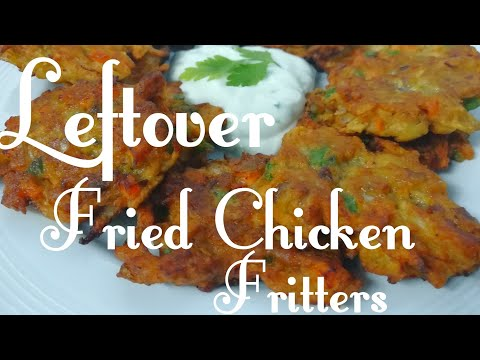 Leftover Fried Chicken Fritters | MediCusina OFW Recipe
