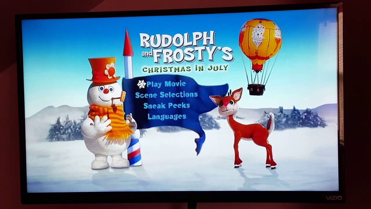 Rudolph And Frostys Christmas In July Dvd.Rudolph And Frosty S Christmas In July Dvd Menu