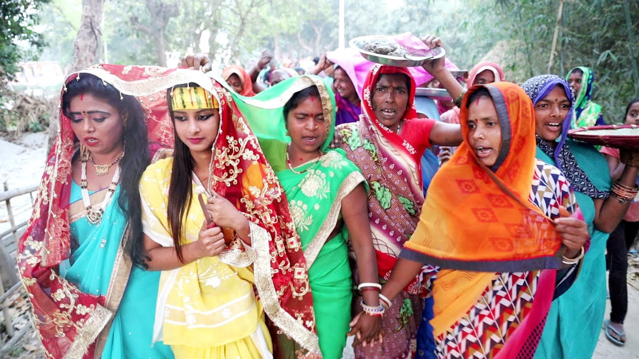 बेटी के मटकोर | देखिए कैसे गांव में बेटी का मटकोर किया जाता है  | Beti Ke Matkor | Maithili Bazar