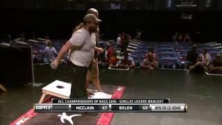 ACL COBS 2016: $25K Singles Cornhole Championship Intro with Daniel McClain and Smokey Bolen