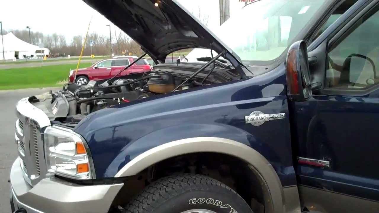 2006 ford f250 king ranch 6.0 specs