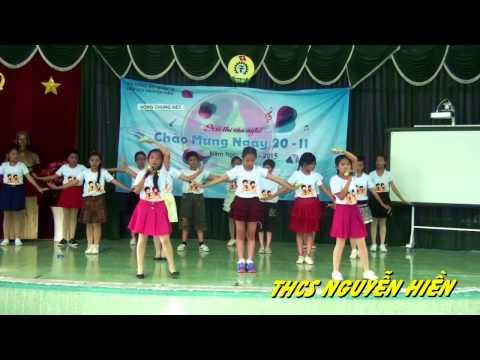 Chung Kết Văn Nghệ 20.11.2014 - THCS Nguyễn Hiền Q12