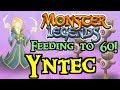 Monster Legends - Feeding to 60! : Yntec