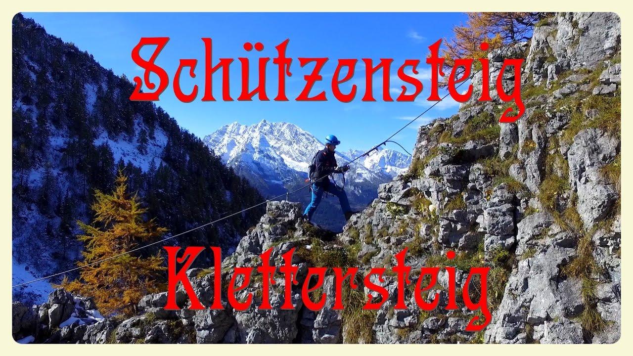 Klettersteig Jenner : Schützensteig klettersteig jenner youtube