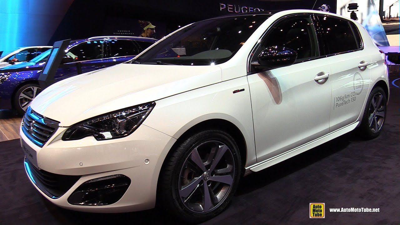 2016 peugeot 308 gt line exterior and interior for Interior 5008 gt line