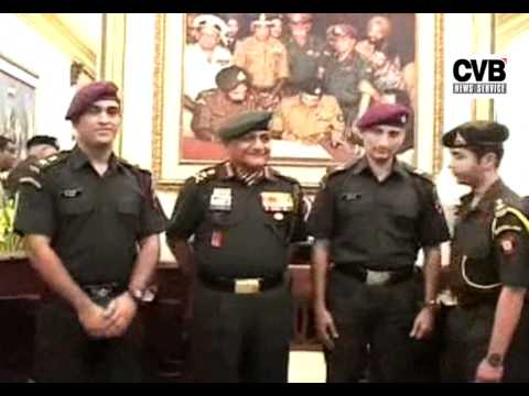 MAHENDRA SINGH DHONI AND ABHINAV BINDRA CONFERRED AS LT COL IN TERRITORIAL ARMY