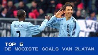 TOP 5 | De mooiste goals van Zlatan