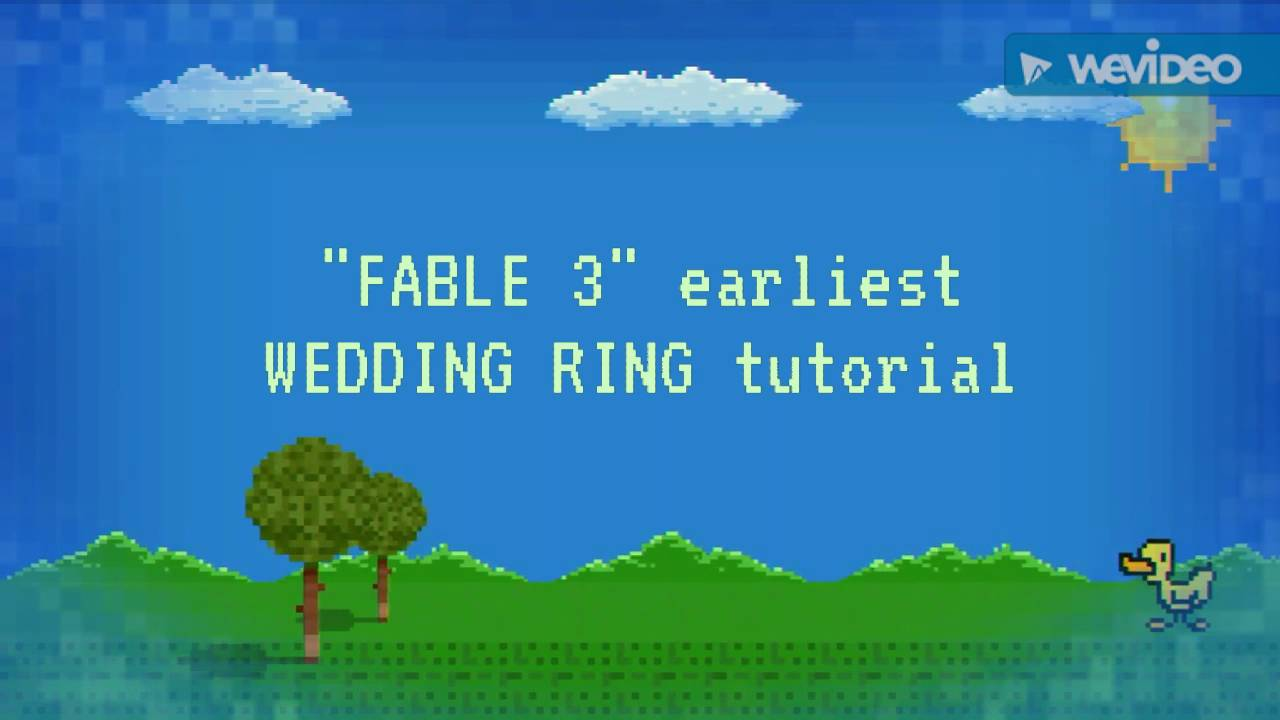 FABLE 3 how to find 1st WEDDING RING YouTube