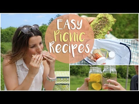 WHAT I EAT IN A DAY | PERFECT PICNIC RECIPES