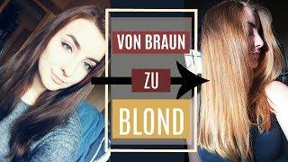 VON BRAUN ZU BLOND - Ombre selbst zuhause färben