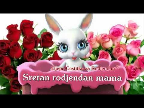 sretan rođendan mama čestitke Sretan rođendan draga moja mama •   Tải Video Nhạc Hình Hay Nhất sretan rođendan mama čestitke