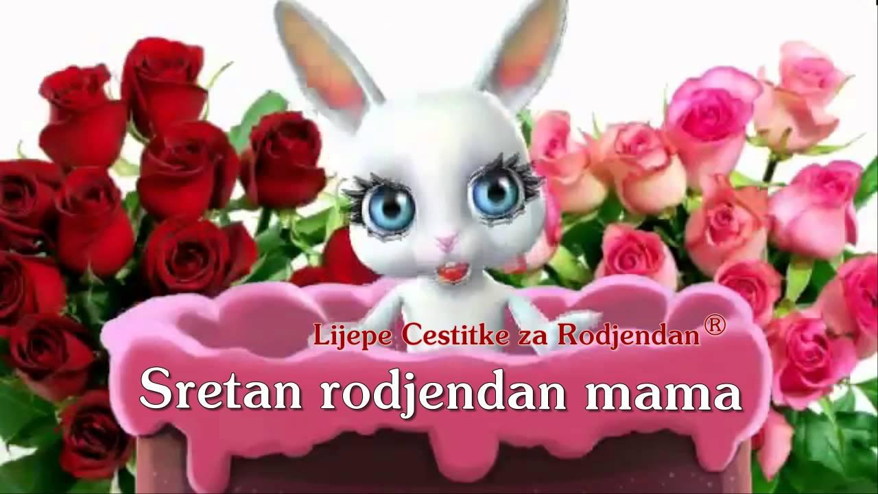 čestitka majci za rođendan Sretan rođendan draga moja mama •   YouTube čestitka majci za rođendan