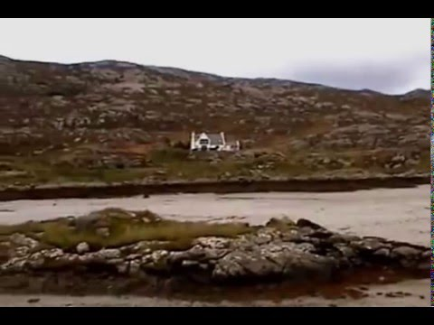 MOTORHOME TRAVEL ON THE UIST ISLANDS.