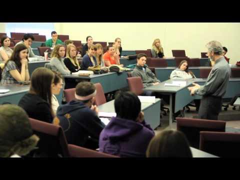 Stephen Lang visits Northeastern University