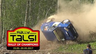Rally Talsi 2017.(actions/crashes)