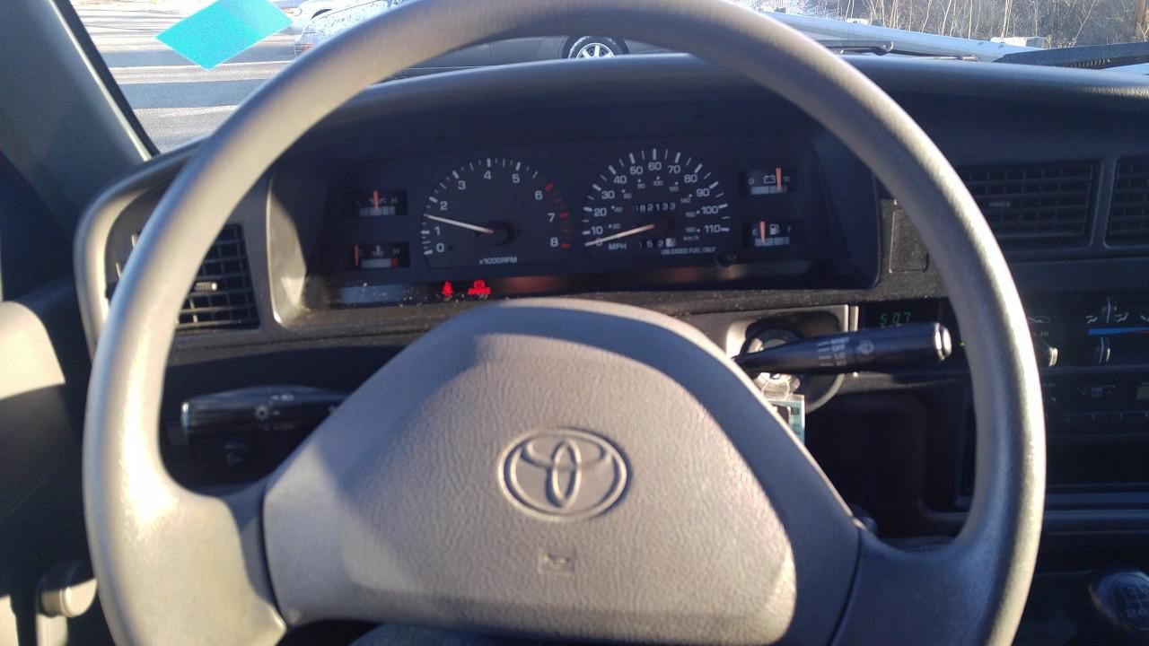 1993 toyota pickup interior start up gear change for - 1993 toyota pickup interior parts ...