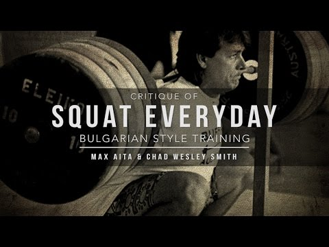 Critique of Squat Everyday | Bulgarian Style Training | JTSstrength.com