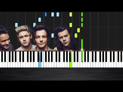 One Direction - Perfect - Piano Cover/Tutorial by PlutaX - Synthesia