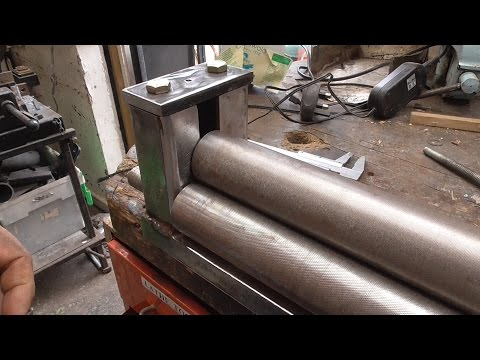 how im restoring my old sheet metal roller .second life.part/1 of 2