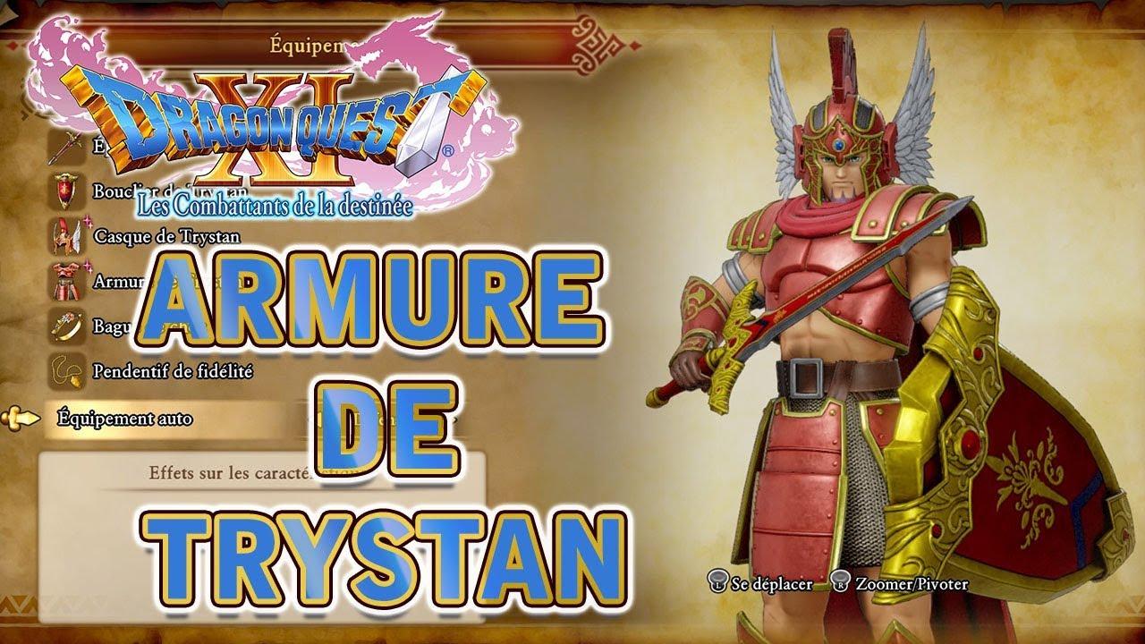 Dragon Quest Xi Armure De Trystan Youtube