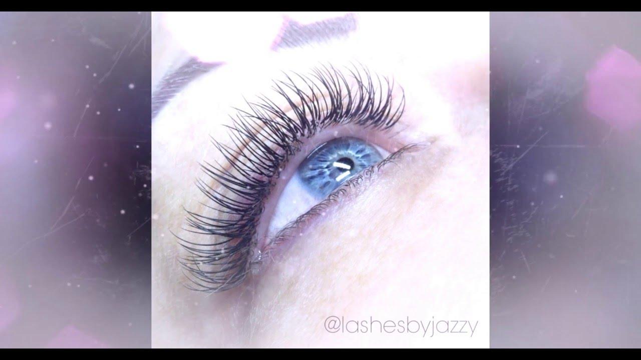 Jazzy Lashes Eyelash Extensions Gallery Youtube
