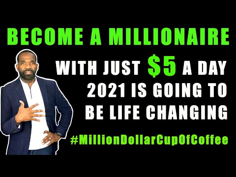 HOW TO BECOME A MILLIONAIRE INVESTING WITH JUST $5 A DAY | #MillionDollarCupOfCoffee
