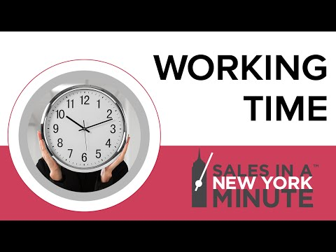 Working Time - Jen Gluckow