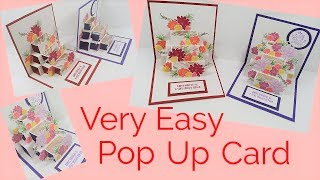Easy Pop Up Card | Video Tutorial