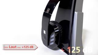 Produktvideo zu Funk-Kopfhörer Geemarc CL7400 Silber