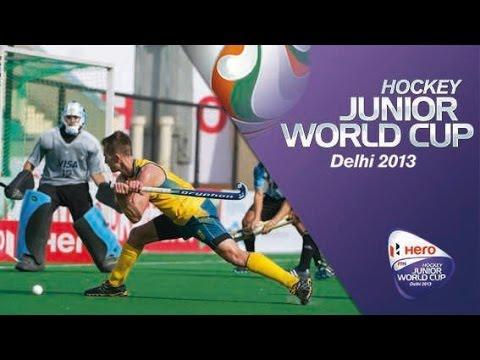 Australia vs Argentina - Men's Hero Hockey Junior World Cup India [06/12/2013]