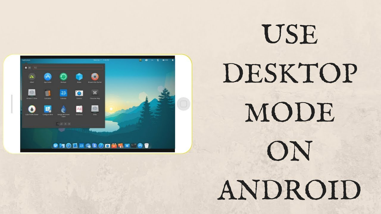 HOW TO USE DESKTOP MODE ON ANDROID - WINDOWS