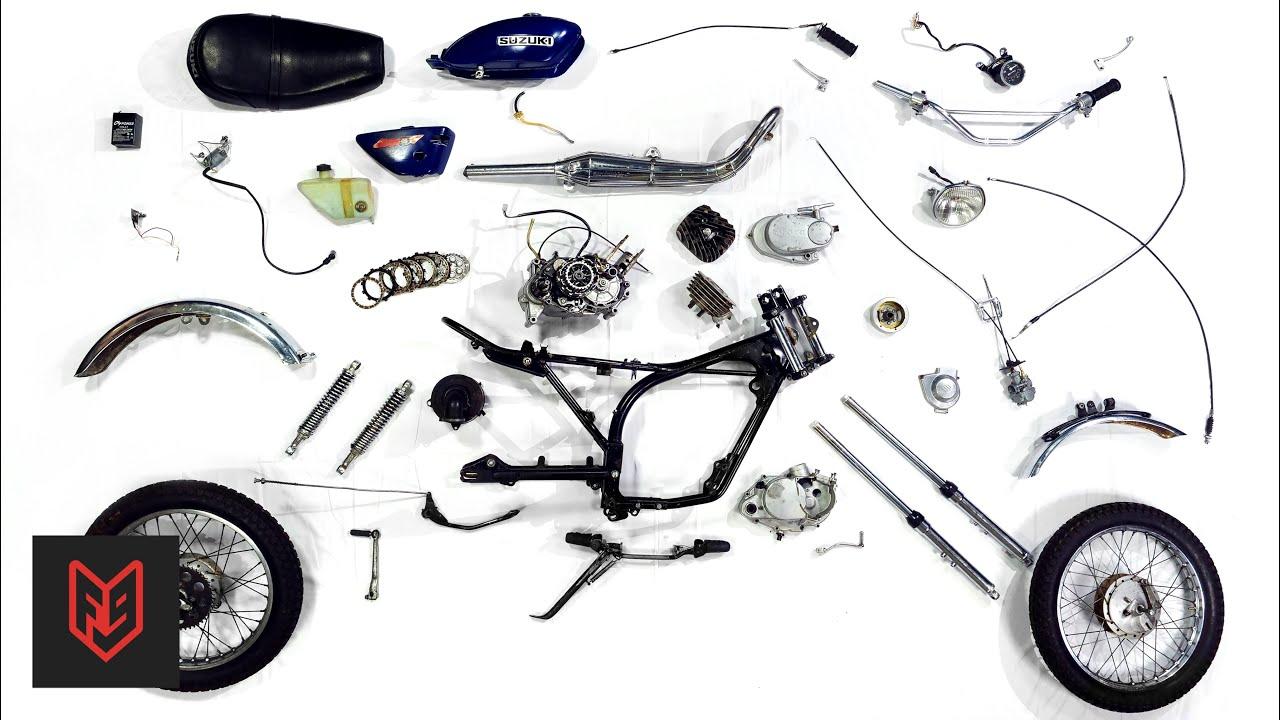 7 Minute Motorcycle Teardown – Mechanic Crash Course