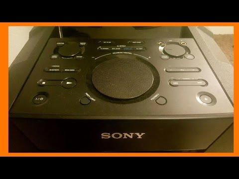 Sony MHC-GT5D Sistema de audio en casa con karaoke
